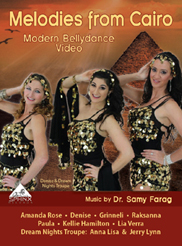 Melodies from Cairo - Modern Bellydance Video - DVD